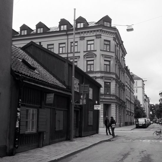 Södermalm SWEDEN_bw Old And Beautiful Södermanagatan