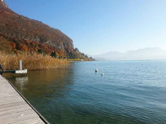 The Purist (no Edit, No Filter) Hello November Peace And Quiet Lake Annecy France  Nice Weather Enjoying The View