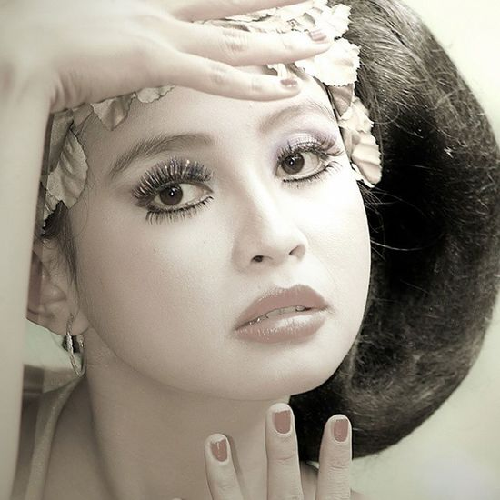 .:: the look of Indonesian girl ::. Kofaba Model Face Pose vintagelooklikelovepicpicture