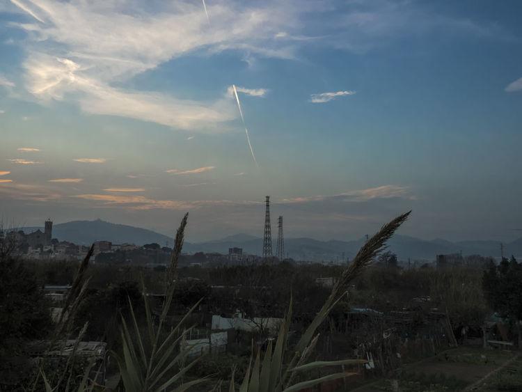 Cloud Cloud - Sky Cloudscape Cloudy Dramatic Sky No People Sant Boi Sky Tranquil Scene