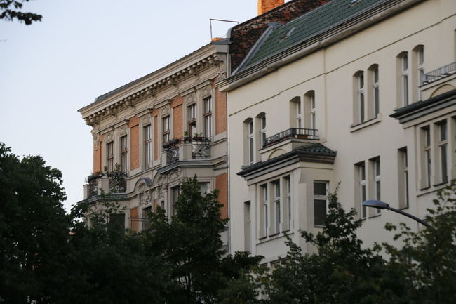 Berlin Façade Historical Building Roof Schöneberg Architecture Backstein Balcony Building Building Exterior Built Structure Fassade Gesims Hauptstrasse Historic House Plant Lifestyles Low Angle View No People Residential District Sky Tree Urban Urban Life Window