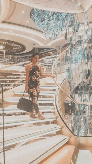 Crazy Rich Asian EyeEm Selects Singapore Woman Prettywoman Cruise Cruiseship Majesticcruise Magnificent Crazyrichasians Modern Art Painted Image Paintings
