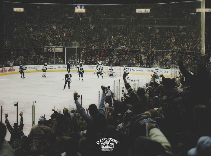 Goal!!!!!! #CBJ blue jackets game!! Win Action Sports Photography Cbj Columbus Bluejackets Blue Jackets Hockey Game Hockey Sport Crowd Group Of People Real People Large Group Of People Stadium Winter Sport