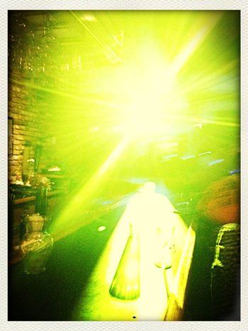 Go towards the light.