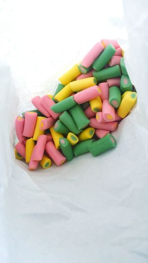 Nothing beats a 20p mixture like a 100p mixture entirely made up of rhubarb and custards! Mixture  Rhubarb And Custards Vintage Childhood Sweeties Tasty Yummy