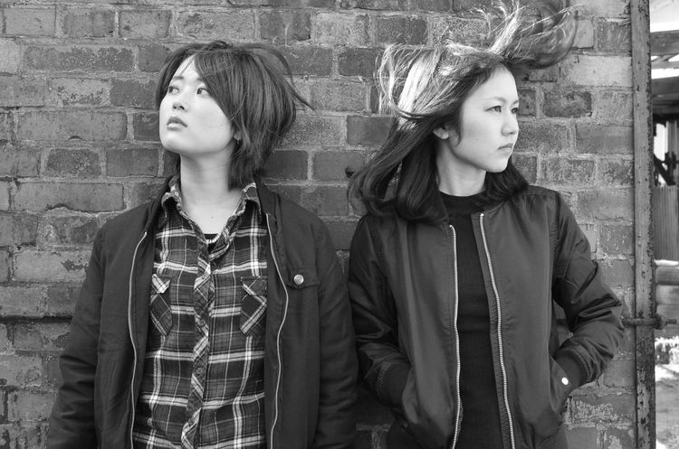 Japanesegirls Portrait Streetphotography Blackandwhite Photography Brick Wall Aichi Cool Tokoname