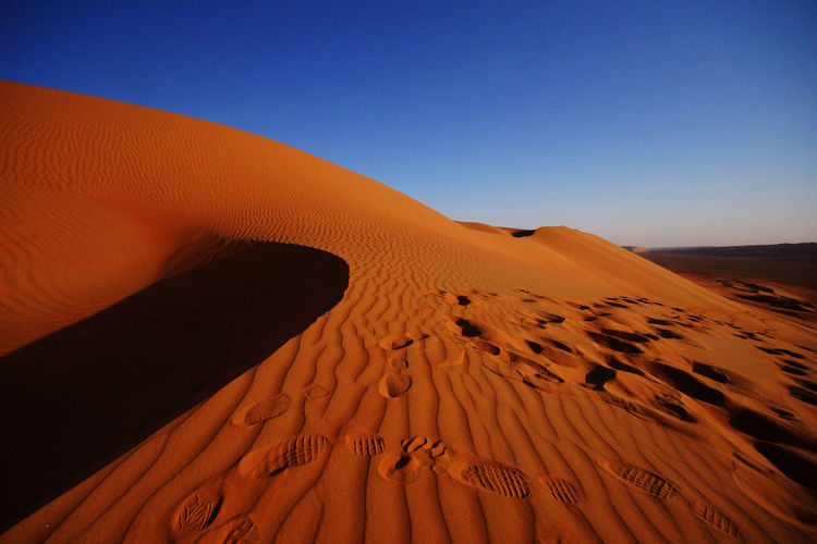 Arid Climate Blue Sky Clear Sky Desert Desert Desert Beauty Desert Landscape Deserted Deserts Around The World Dune Dunes Dunescape Landscape Nature Nature Photography Nature_collection Photo Photographer Photography Photooftheday Sky Sky And Clouds Sky_collection Tranquil Scene Tranquility