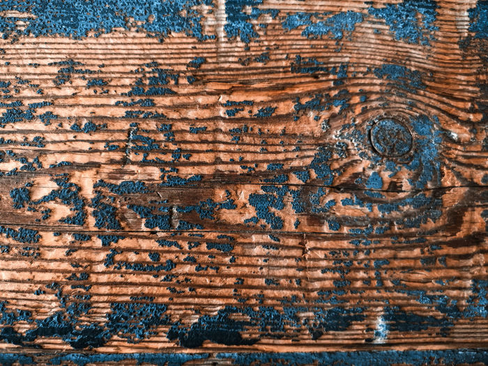 Abstract Wall Vintage Backgrounds Full Frame Pattern Textured  Old Wood - Material Close-up No People Weathered Dirt Wall - Building Feature Wood Blue Brown Plank Wood Grain Run-down Metal Rustic Dirty Textured Effect Antique Parquet Floor