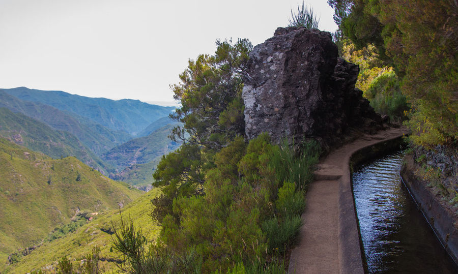 Landscape Levada Da Ribeira Grande Levada Walk Madeira Island Nature No People Outdoors Portugal Water Transport System