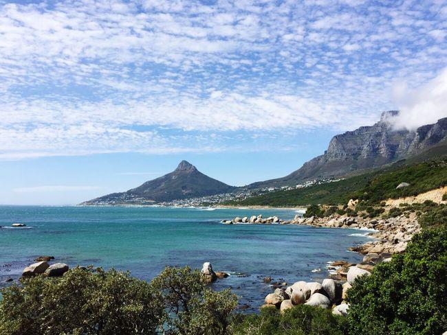 South Africa Lion's Head Lionshead Cape Town Coastline Boulders Atlantic Ocean Mountain Mountains Twelve Apostles Landscapes African Landscape Cloud - Sky Cloudy Ocean View Sea And Sky Seascape Roadtrip Scenics Scenery