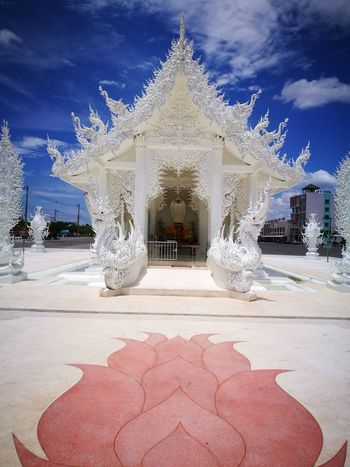 Sky Cloud - Sky Architecture No People Outdoors Day Travel Destinations Thailand Temple