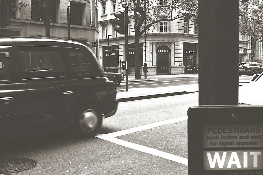 Pedestrian Crossing in London My City Waiting To Cross Waiting Wait Crossing The Road Moving Traffic On The Move Black Cab London Streets London Traffic London Life London Photography Black & White Black And White Black And White Photography Black & White Photography United Kingdom Nikon D3200