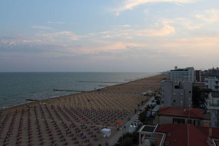 Beachphotography Estate2014 Italy Sea Jesolobeach Mare Ombrelloni Sea Spiaggia