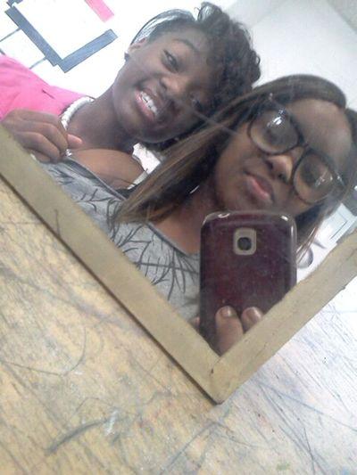 W. My Bestfrann (Kearra) Bestfriend I Love You ! Freshman Year Mwahh