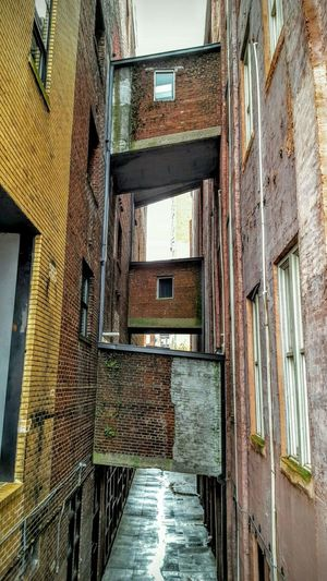 Buildings Building Exterior Passage Passages Bricks Brick Building