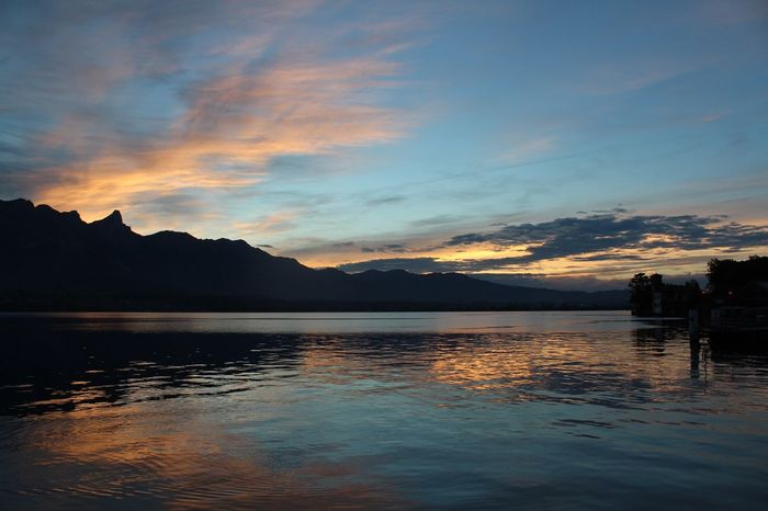 Evening Sky The Eye Em Facebook Cover Challenge Nature Lake