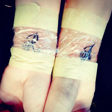 Tattoo Best Friends.? No.! Sisters <3 Love My Girl