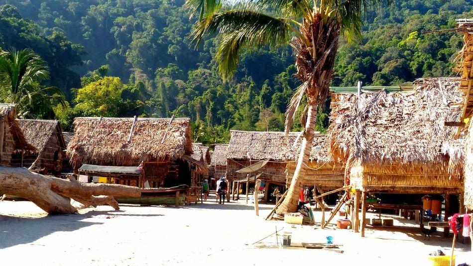 Morgan village @ surin island, Phang-nga, Thailand