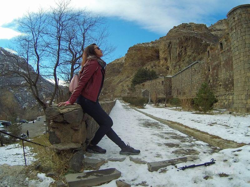 Quityourjobandtravel Topoftheworld Eyeemphoto Geghard Monastery Armenia UNESCOheritagesite Thisrestlessfeetwonderer