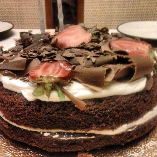 Dizem que faço anos! :) Birthdaycake Cake Birthday Aniversario Bolo Chocolate Florestanegra
