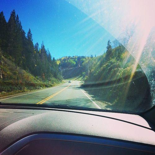 Park city canyon drive was beyond gorgeous! Parkcity Utah Canyondrive
