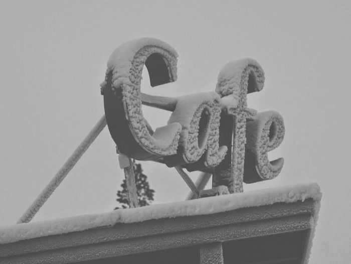 Caribou | All I Ever Need Cafe Snowsnowsnow.  Sign, Sign, Everywhere A Sign Look Up And Thrive Deepfreeze