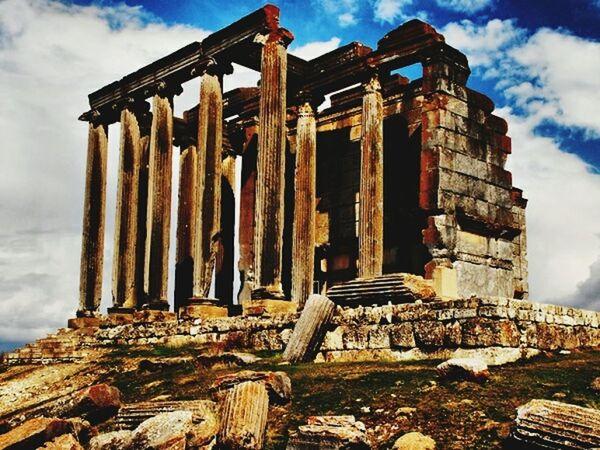Aizanoi Antic City Kütahya Gediz