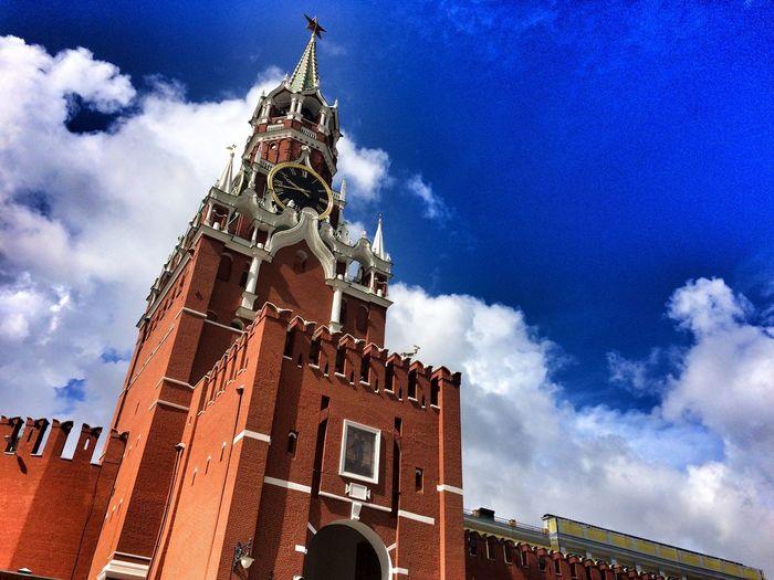 Spasskaya Tower Moscow Moscow Kremlin
