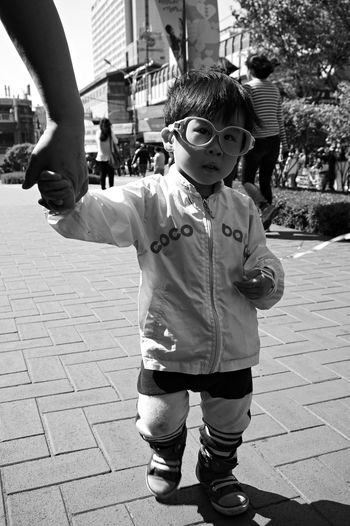 Kid Holiday BW Portrait at Downtown @korea seoul jayang-dong
