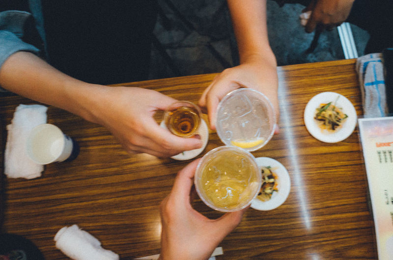 Friends Izakaya Japan Japan Lovers Japanese Food Japanese Culture POV Tokyo Travel Traveling Trip Adult Alchohol Asakusa Cheap Cheers Citrus Fruit Cocktail Drink Drinking Glass Food Food And Drink Freshness Friendship Fruit Glass Group Of People Hand Healthy Eating Holding Human Body Part Human Hand Indoors  Journey Lemon New Vintage People Personal Perspective Real People Refreshment Restaurant Shochu SLICE Still Life Table