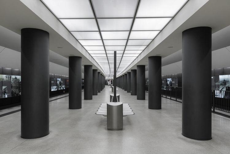 Architectural Column Architecture Bahnhof Bundestag Indoors  No People Subway Subway Station U-Bahn Underground Underground Station