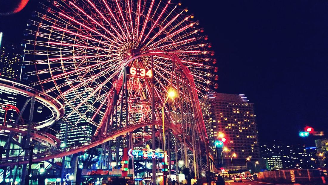 At Cosmo World Yokohama. The EyeEm Facebook Cover Challenge Yokohama Japan