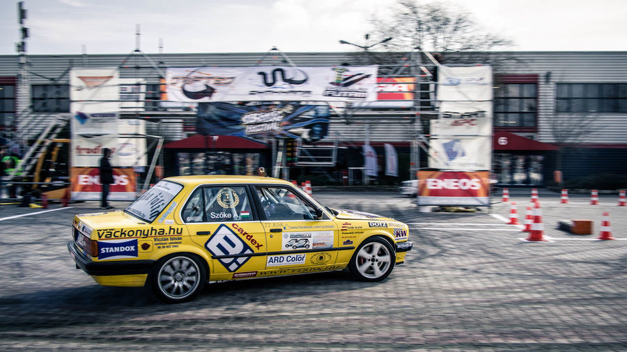 Amts Car Cinematic Drift Drifting EyeEm EyeEm Best Edits EyeEm Best Shots Gymkhana Hungary Sportphotography Yellow
