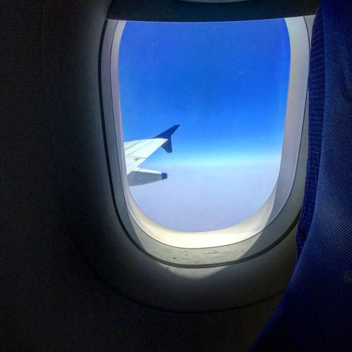 Typical in-flight click where horizon is d only place which exist ..eternity is d only truth..blue n white are d only colors... IPhone Photography IPhoneography Horizon Eternity Blue Blue Sky Amazing View Amazing Beautiful Beauty In Nature Nature Beautiful Nature Blueinmyframe Flying InFlightPhoto Inflight Day