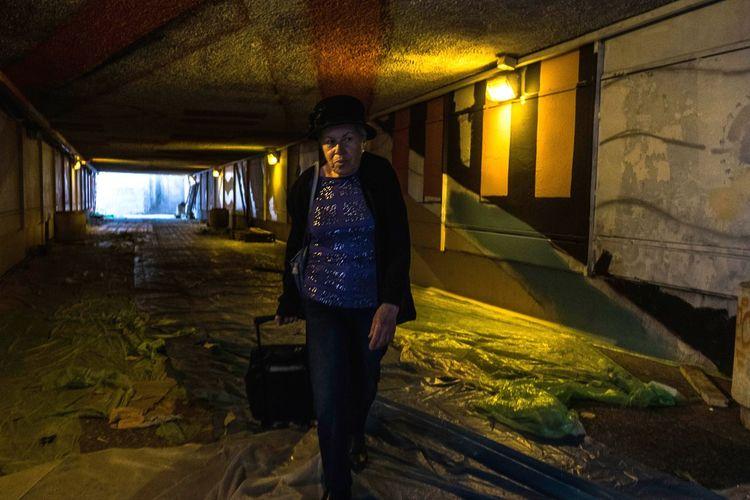 Untitled Capture Tomorrow Urban Woman City Jerusalem Full Length Tunnel Walking Women Architecture