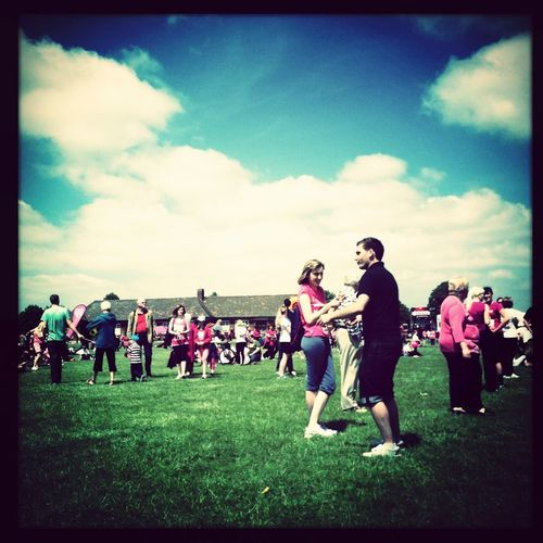Getting Ready For Race For Life