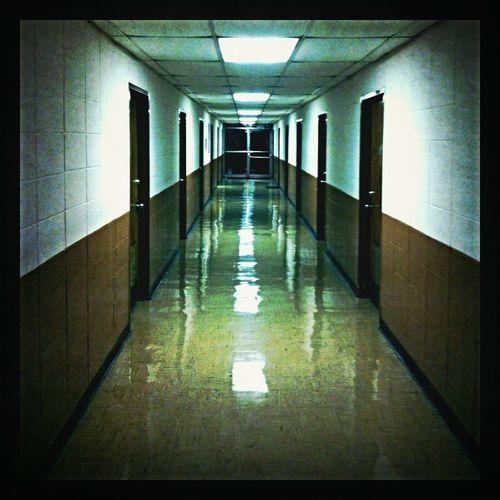 Illuminated corridor