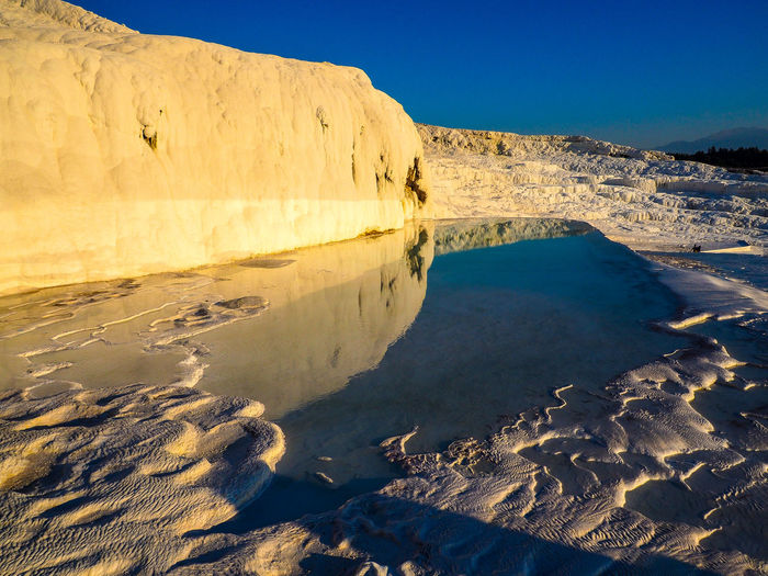 Travertine pool at pamukkale