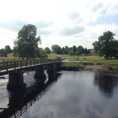 Bridge at Bolton Abbey Bridge River Riverside River View BoltonAbbey Yorkshire Riverbank Picoftheday
