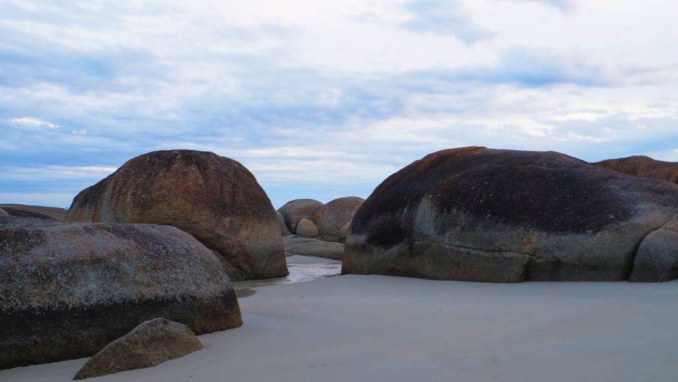 Elephant Rocks. Beach Beauty In Nature Cloud - Sky Day Nature No People Outdoors Rock - Object Rock Formation Scenics Sky Tranquility The Great Outdoors - 2017 EyeEm Awards Sandy Beach Granite Secret Places Western Australia Elephant Rocks