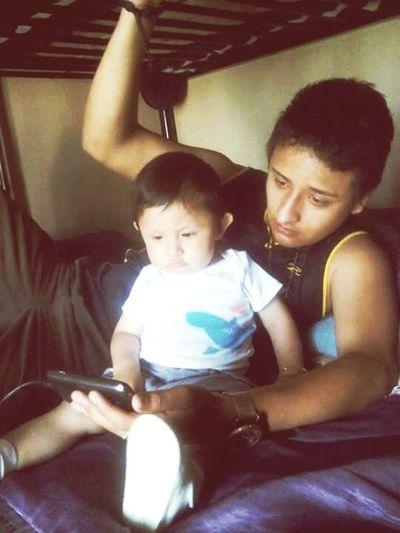 Daddy and son, Alexander AngelkMce First Eyeem Photo