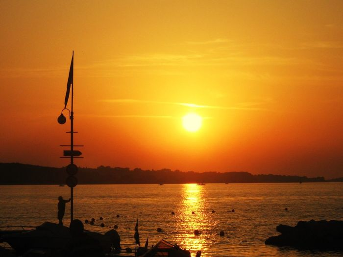 Sunset Orange Color Sun Sky Sea Water Silhouette Scenics Beauty In Nature Nature No People Tranquility Idyllic Tranquil Scene Outdoors Sunrise Day Sunset_collection Sunlight Beauty Beauty In Nature Nature EyeEm Nature Lover EyeEm Best Shots Sunshine