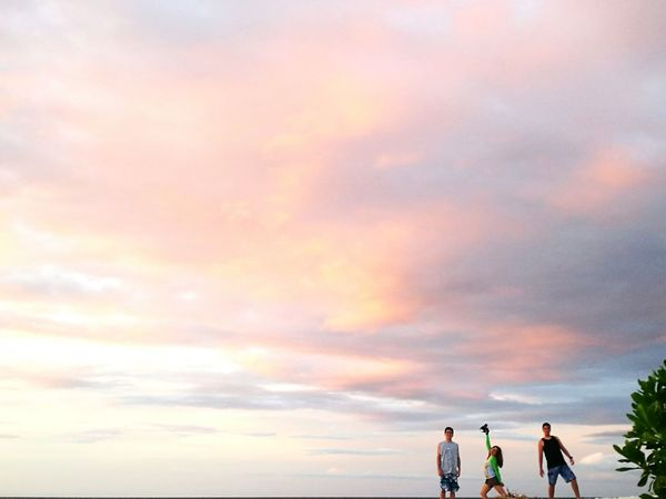 Sky Cloud - Sky Sunset People Togetherness Outdoors Beach Sea Friendship Beauty In Nature Nature Horizon Over Water HuaweiP9 HuaweiP9Photography Travel Destinations Philippinesbeaches Philippines Huawei P9 Photos Huaweiphotography Kalanggamanisland Kalanggaman Island Huawei P9 Leica Huawei Sunsets Nature