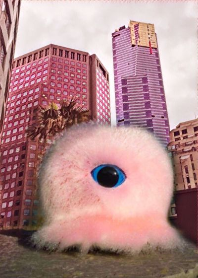 Photographic Approximation Fluff In The City Facial Experiments Free Yourself From Yourself Story Within Story Surrealism And Fantasy Art