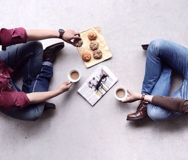People Together Relax Coffee Drink Boy Morning First Eyeem Photo
