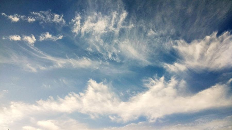 Sky Cloud - Sky Dramatic Sky From My Point Of View Blue Sky With Clouds No People Nature Low Angle View Beauty In Nature Heaven Scenics Outdoors Day TCPM