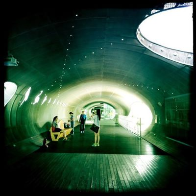 Ttukseom Resort Observatory, Seoul #Hipstamatic #Oggl #JohnS #BlankoNoir Hipstamatic Johns Blankonoir Oggl