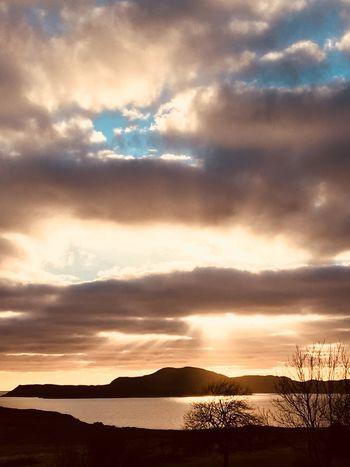 Ullapool Ullapool Highlands Of Scotland Scotland Sunset Summer Isles