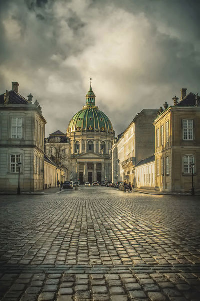 Copenhagen after rain Copenhagen, Denmark Denmark Old Town Sunny The Week On EyeEm Travel Architecture Building Exterior Built Structure City Cloud - Sky Cobblestone Copenhagen Dome Europe History No People Old Buildings Outdoors Rainy Sunlit Travel Destinations Urban