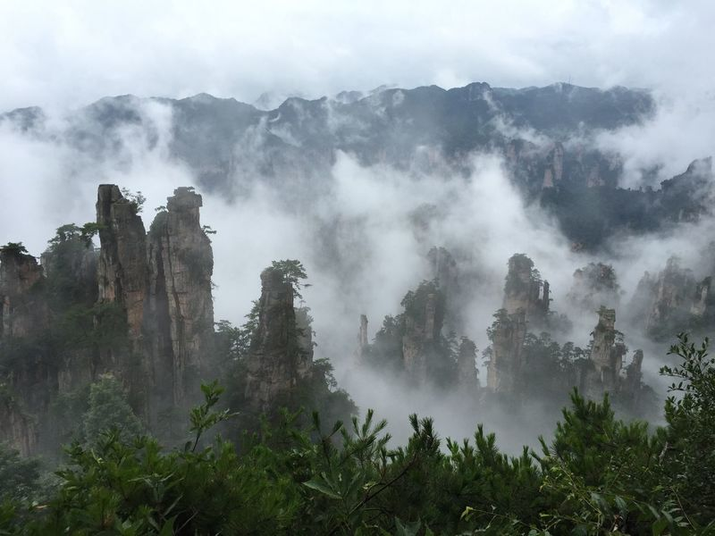 Avatar Beauty In Nature Beauty In Nature Best Place On Earth China Fog Hunan Hunan Province, China Landscape Mountains Nature Nature At Its Best Nature Photography Outdoors Places To Visit Rocks Sky Spectacular View Surreal Landscapes Tranquility Travel Photography Wonderful View WuLingYuan Wulingyuan Scenic Area Zhangjiajie
